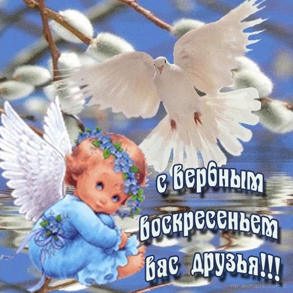 С верным воскресеньем вас друзья - С Вербным Воскресеньем поздравительные картинки