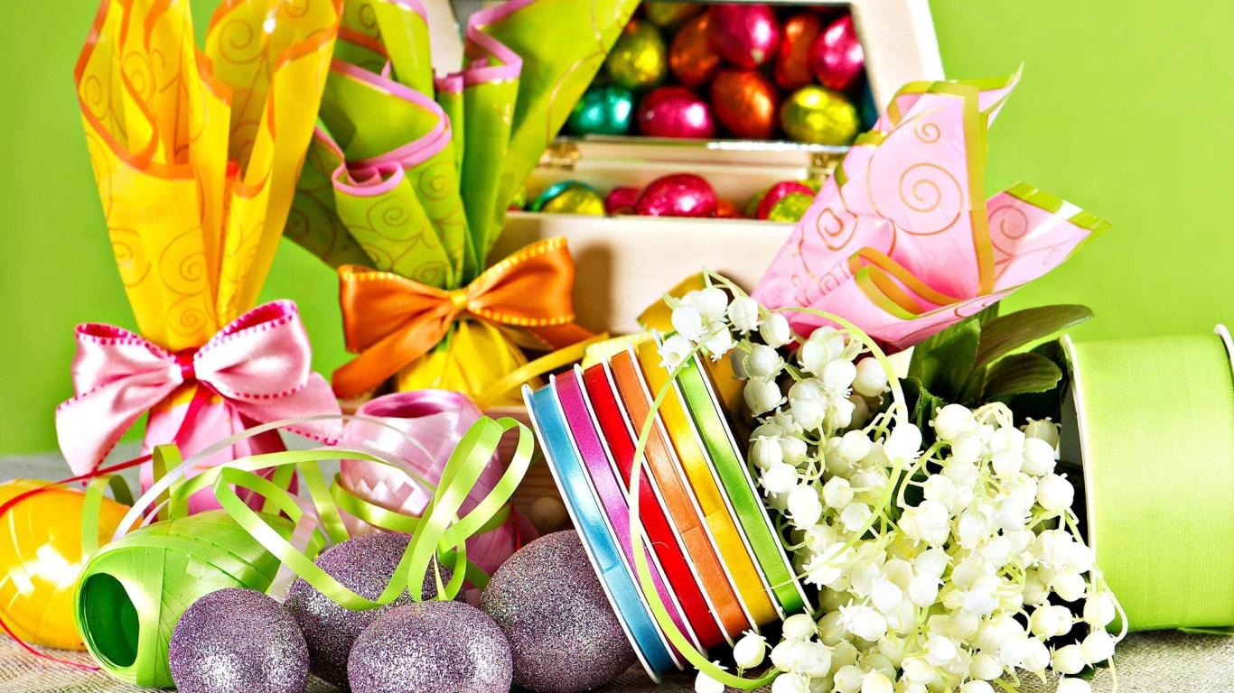 Подарки на Пасху - C Пасхой поздравительные картинки