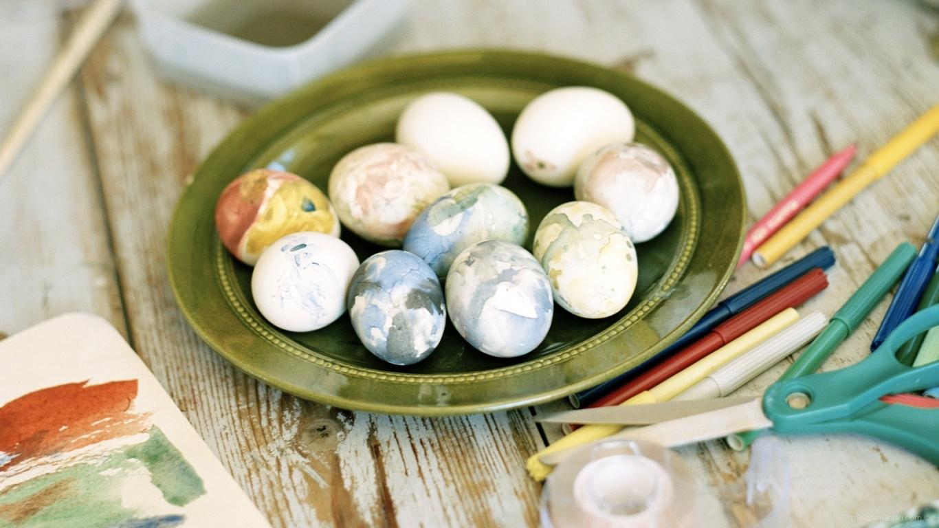 Пасхальные яйца - C Пасхой 2017 поздравительные картинки
