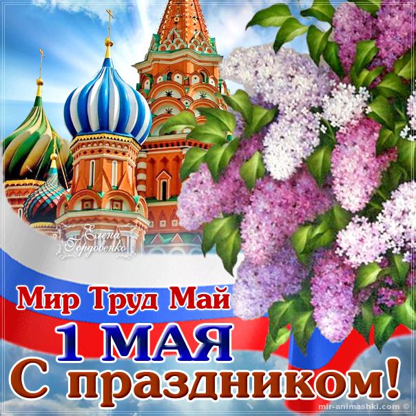 Картинка на первое мая - Поздравления с 1 мая поздравительные картинки
