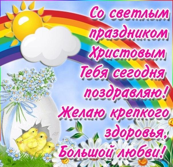 Со светлом праздником Христовы - C Пасхой поздравительные картинки