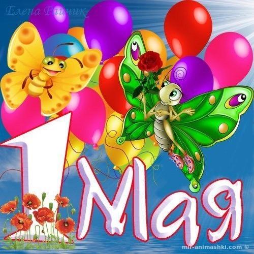 Прикольная картинка для майские праздники - Поздравления с 1 мая поздравительные картинки