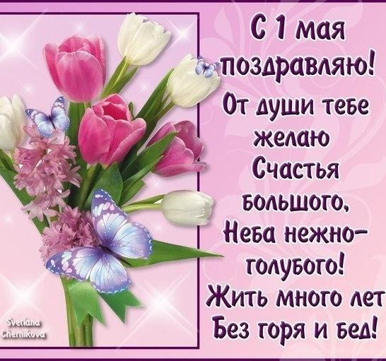 С 1 мая поздравляю - Поздравления с 1 мая поздравительные картинки