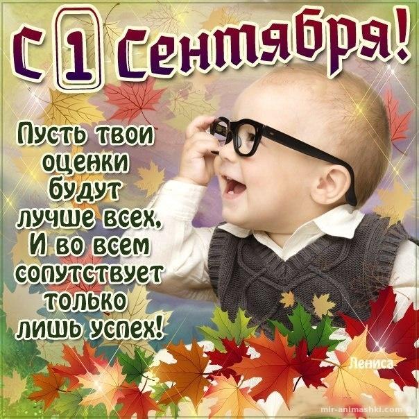 Яркие оригинальные картинки с 1 сентября - 1 сентября - День знаний поздравительные картинки