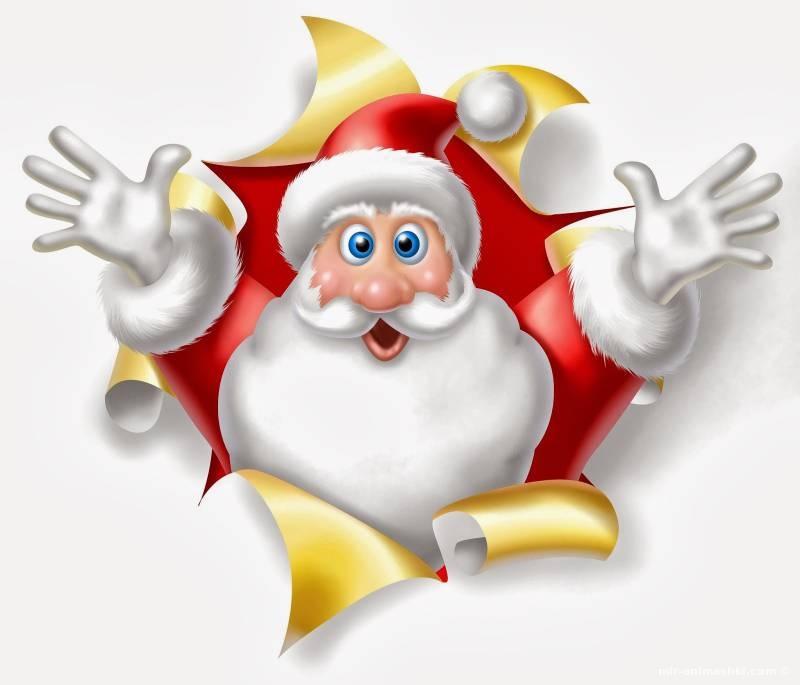 Детский дед мороз - Дед Мороз и Снегурочка поздравительные картинки