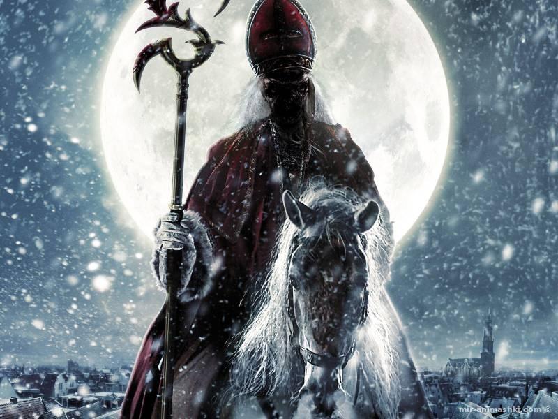 Дед мороз монстр - Дед Мороз и Снегурочка поздравительные картинки