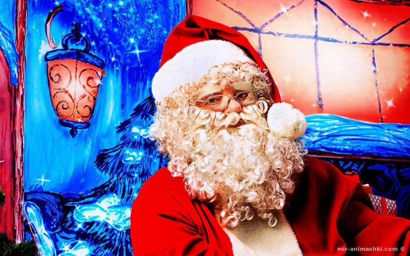 Hовогодний дед мороз - Дед Мороз и Снегурочка поздравительные картинки