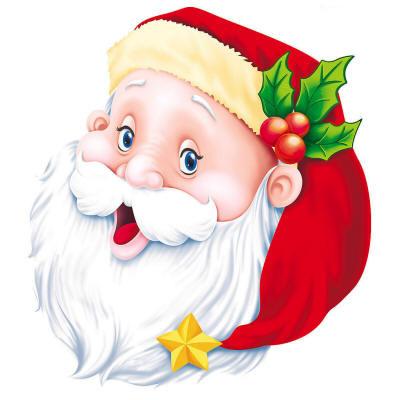 Смеющийся Дед Мороз - Дед Мороз и Снегурочка поздравительные картинки