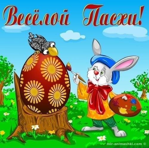 Поздравление с праздником Пасхи - C Пасхой поздравительные картинки