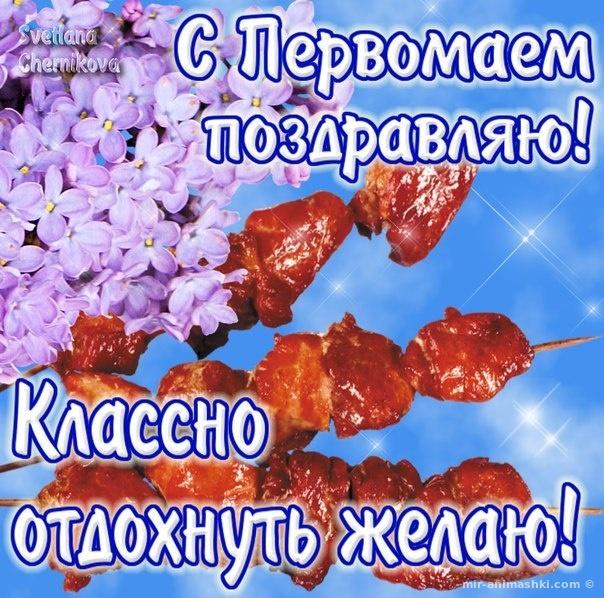 С праздником Весны 1 Мая - Поздравления с 1 мая поздравительные картинки