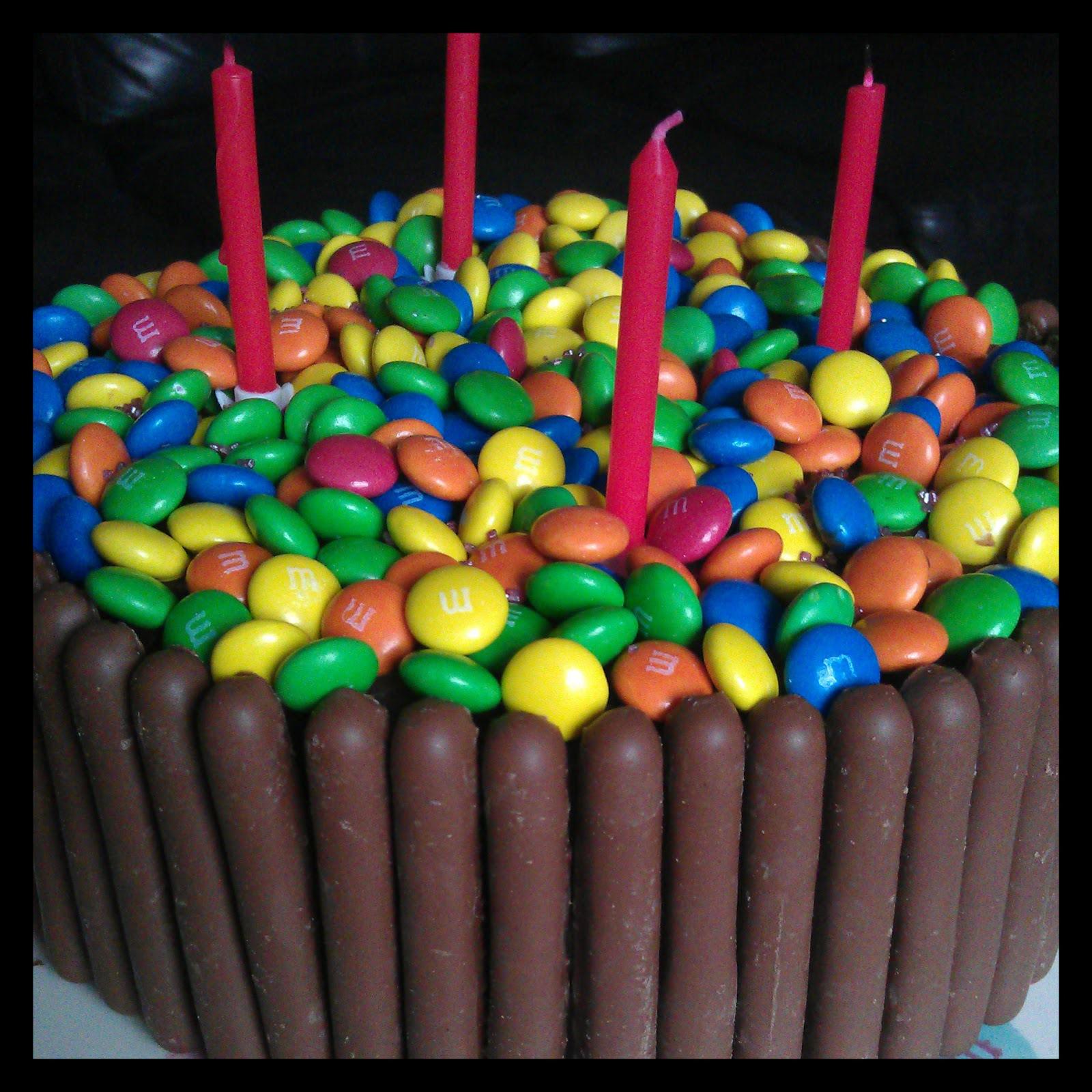 Домашний торт на день рождения - С Днем Рождения поздравительные картинки
