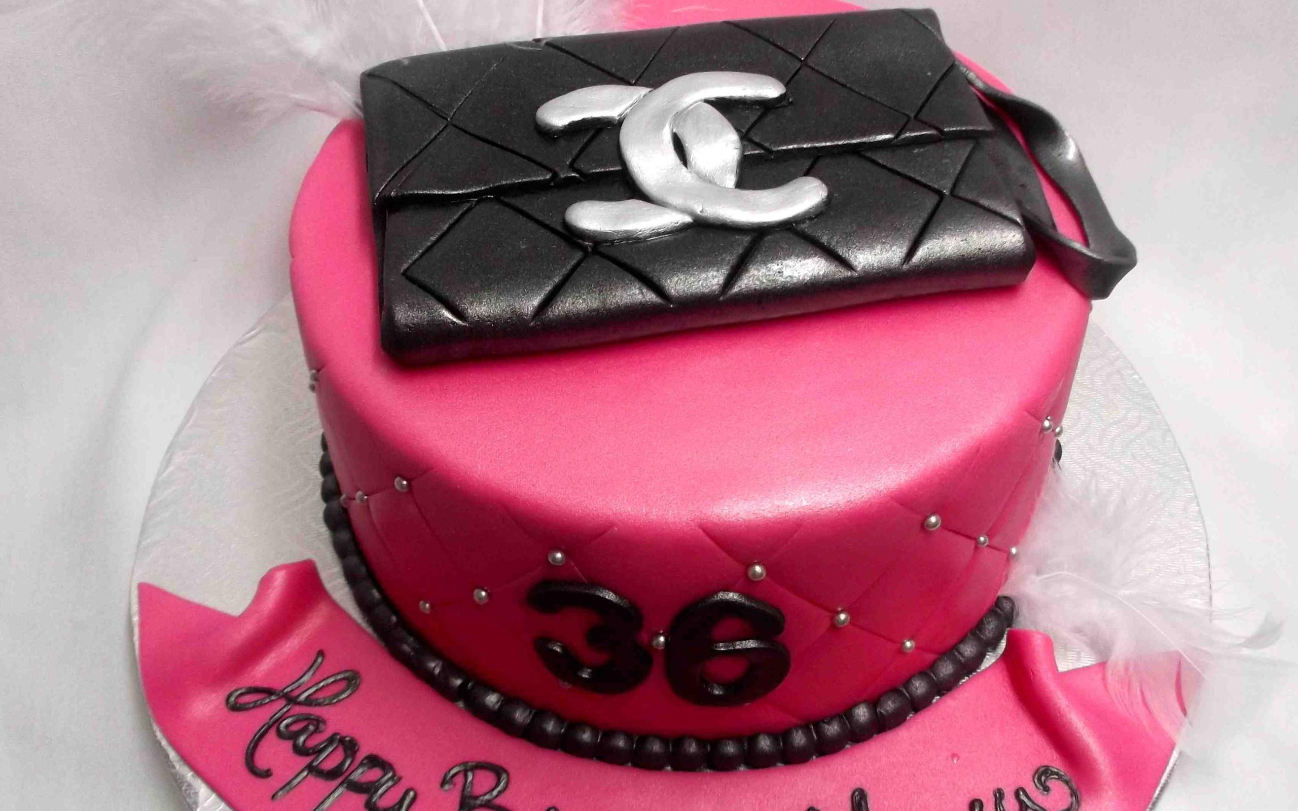 Шанель торт на день рождения - С Днем Рождения поздравительные картинки