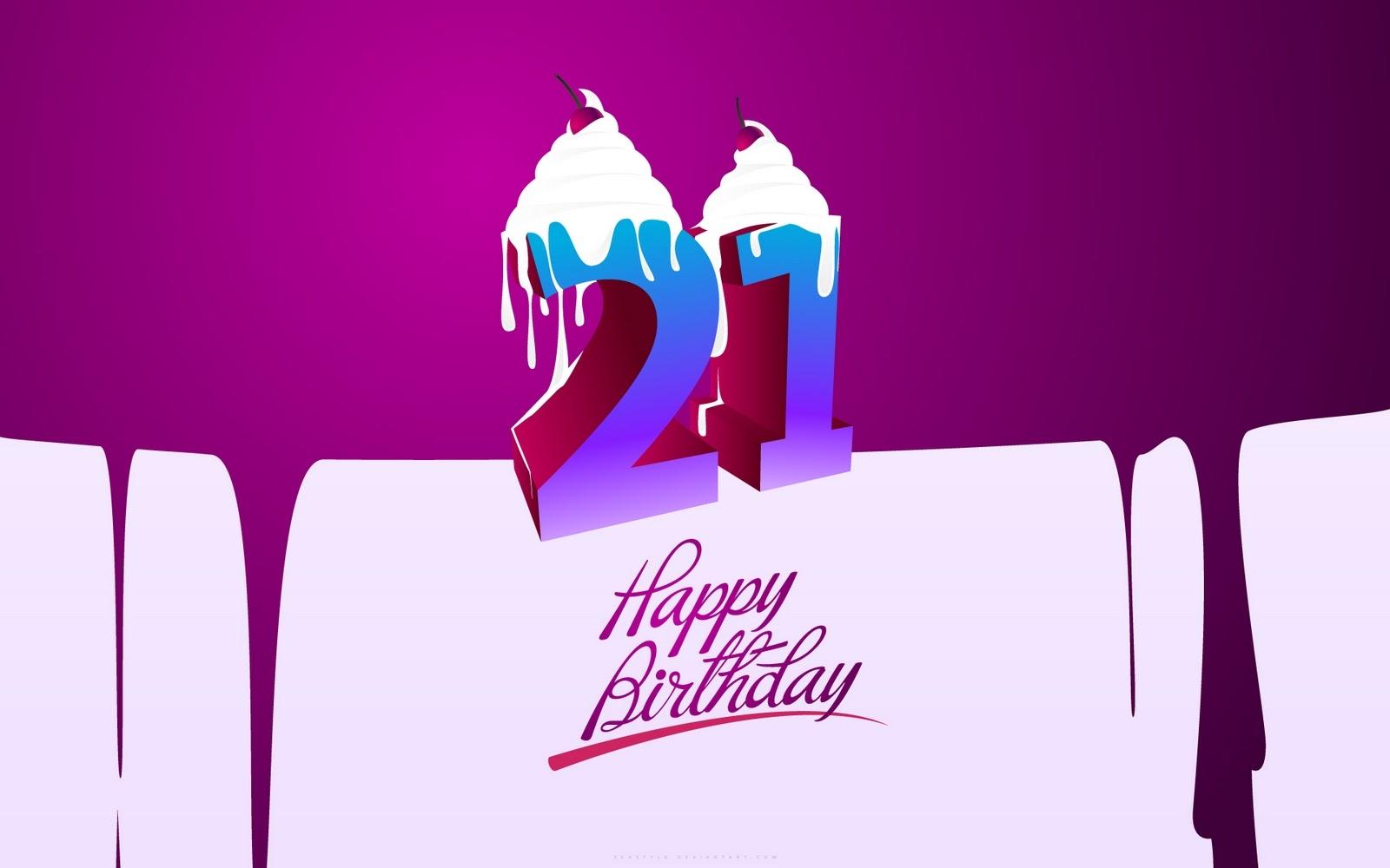 Поздравление с 21 днем рождения девушке