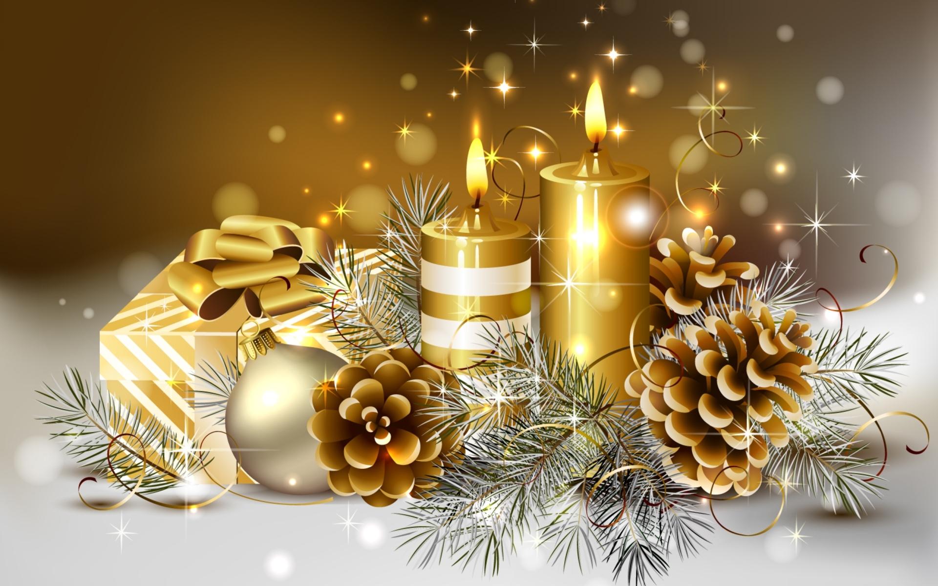 Рождественские мотивы - C Новым годом  2018 поздравительные картинки
