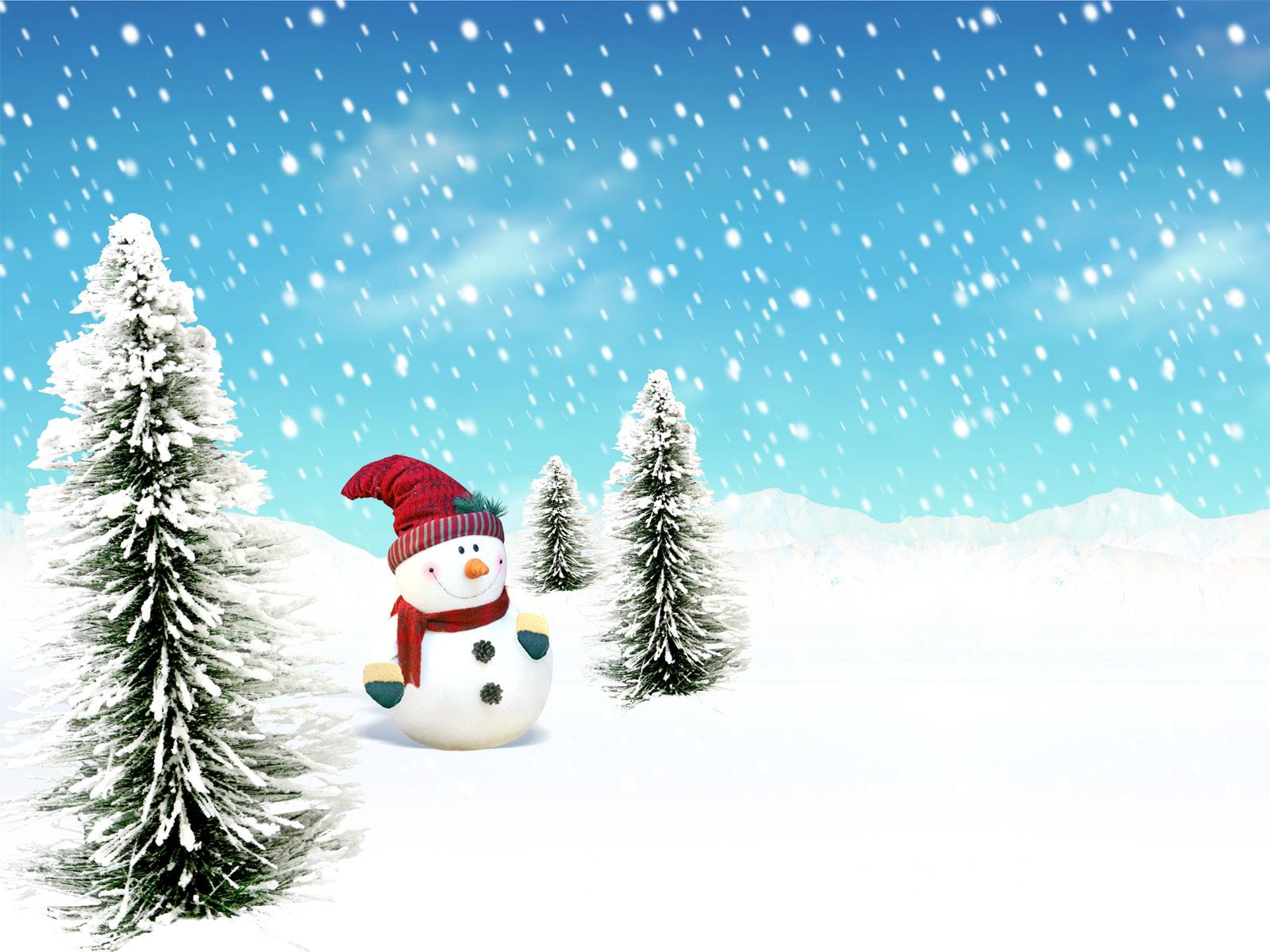 Снеговик - C Новым годом  2018 поздравительные картинки