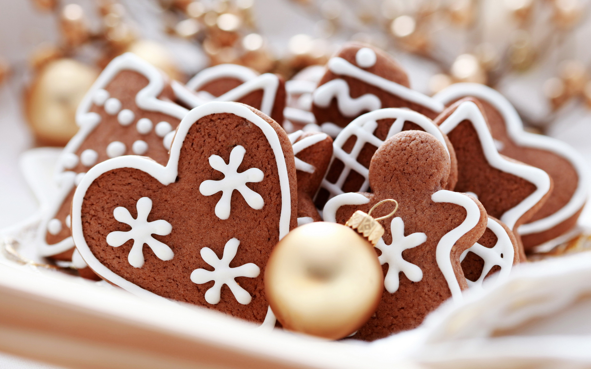 Рождественское печенье - C Новым годом  2018 поздравительные картинки