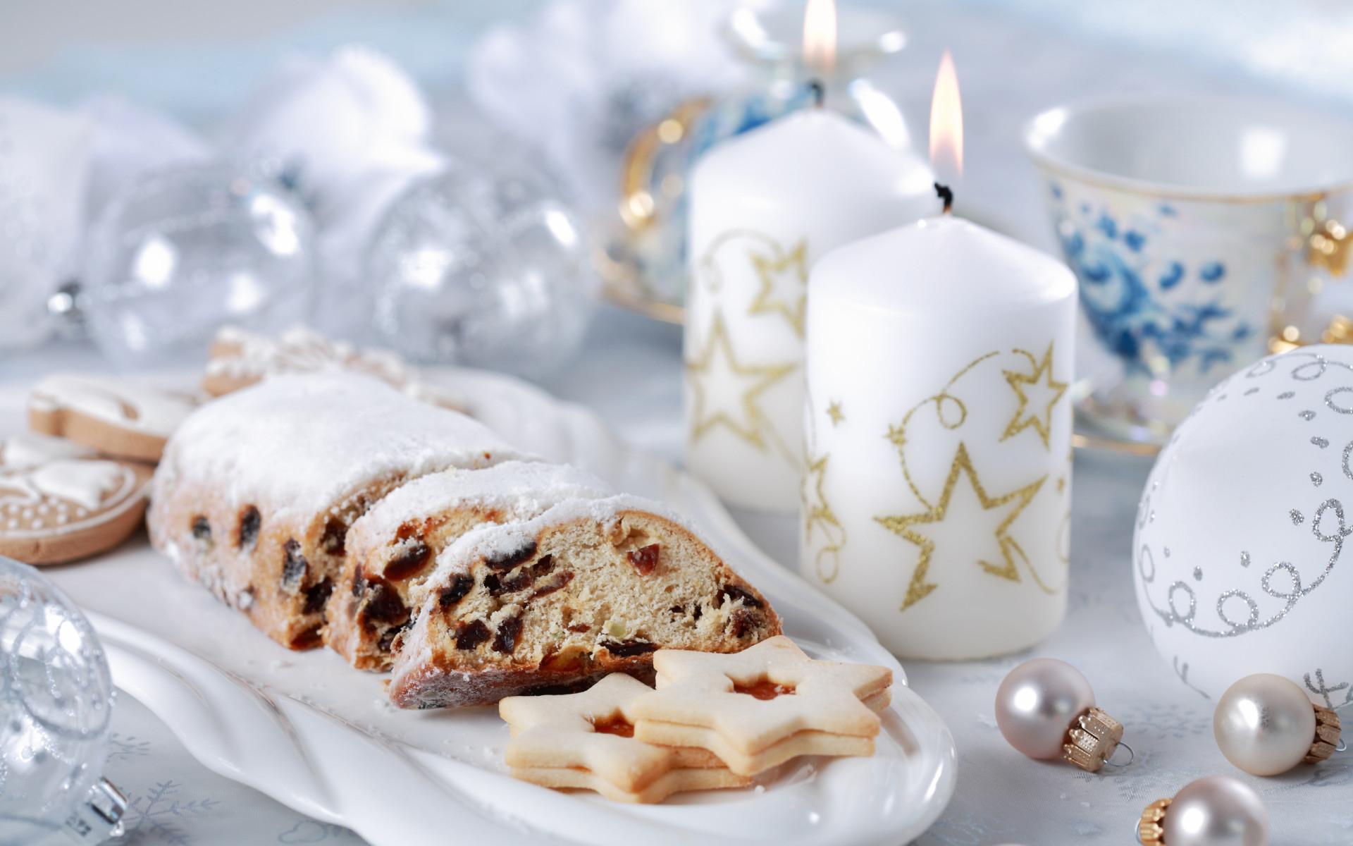 Праздничный десерт - C Новым годом  2018 поздравительные картинки