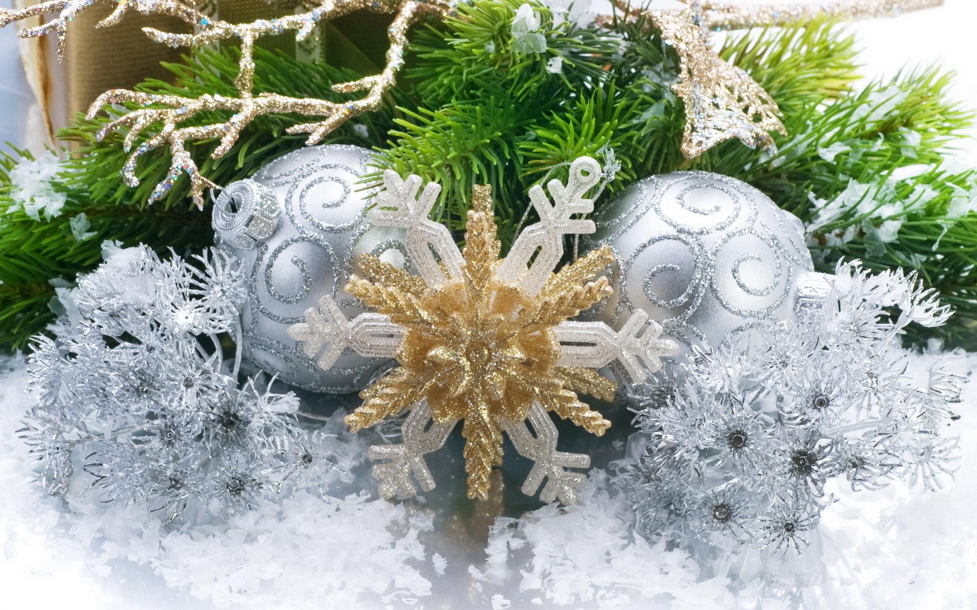 Игрушки на елку - C Новым годом  2018 поздравительные картинки