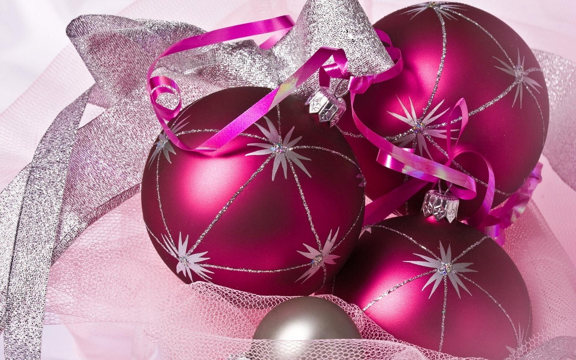 Елочные шары - C Новым годом  2018 поздравительные картинки
