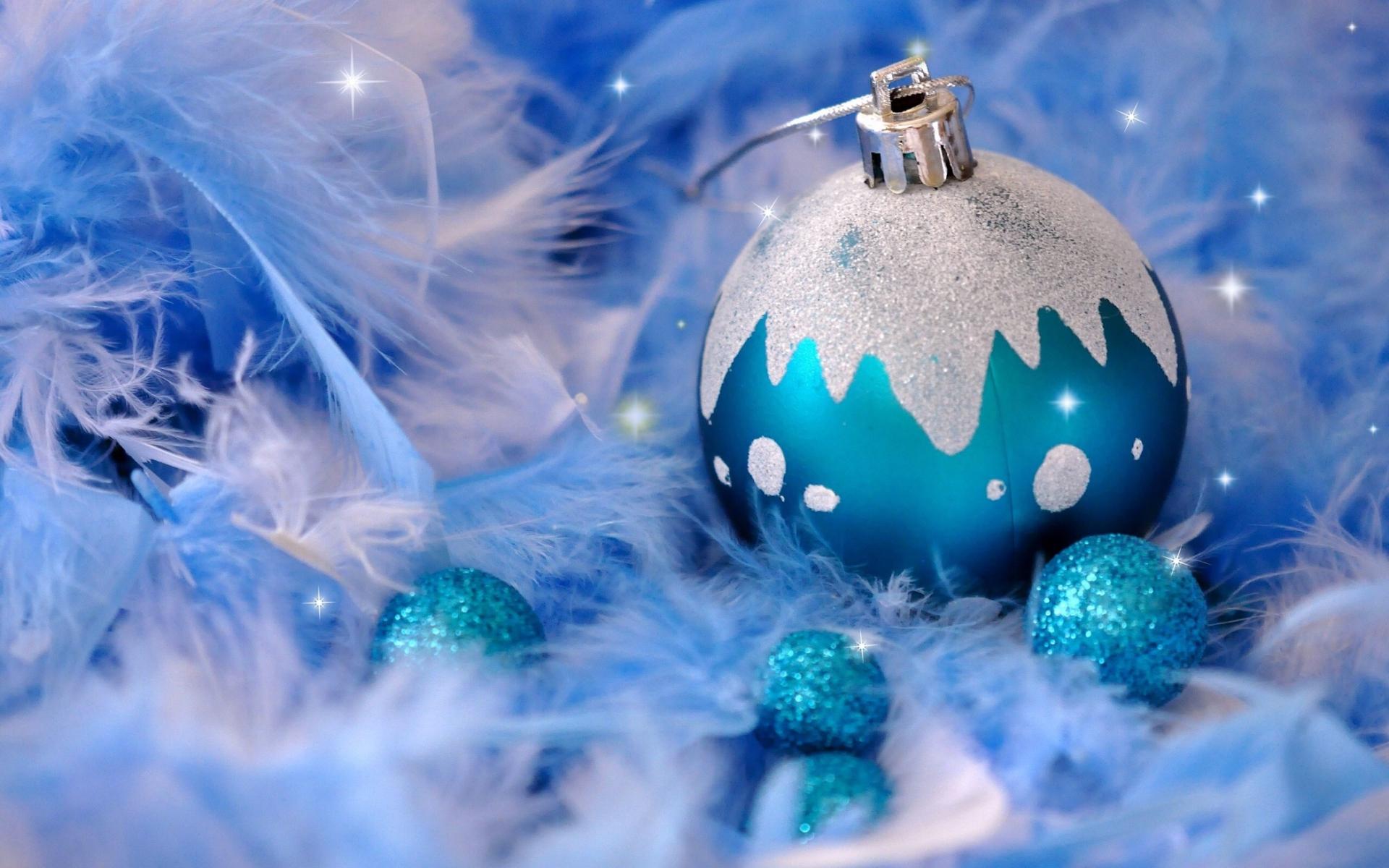 Синий шарик на Новый год - C Новым годом 2019 картинки ...