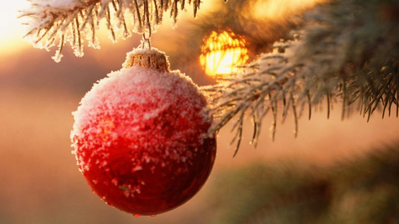 Новогодние украшения - C Новым годом  2018 поздравительные картинки