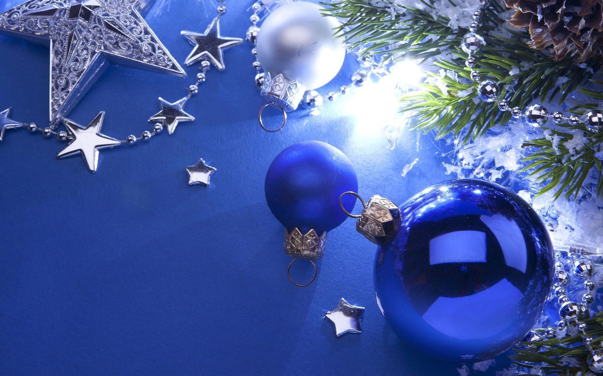 Открытки с новым годом на синем фоне