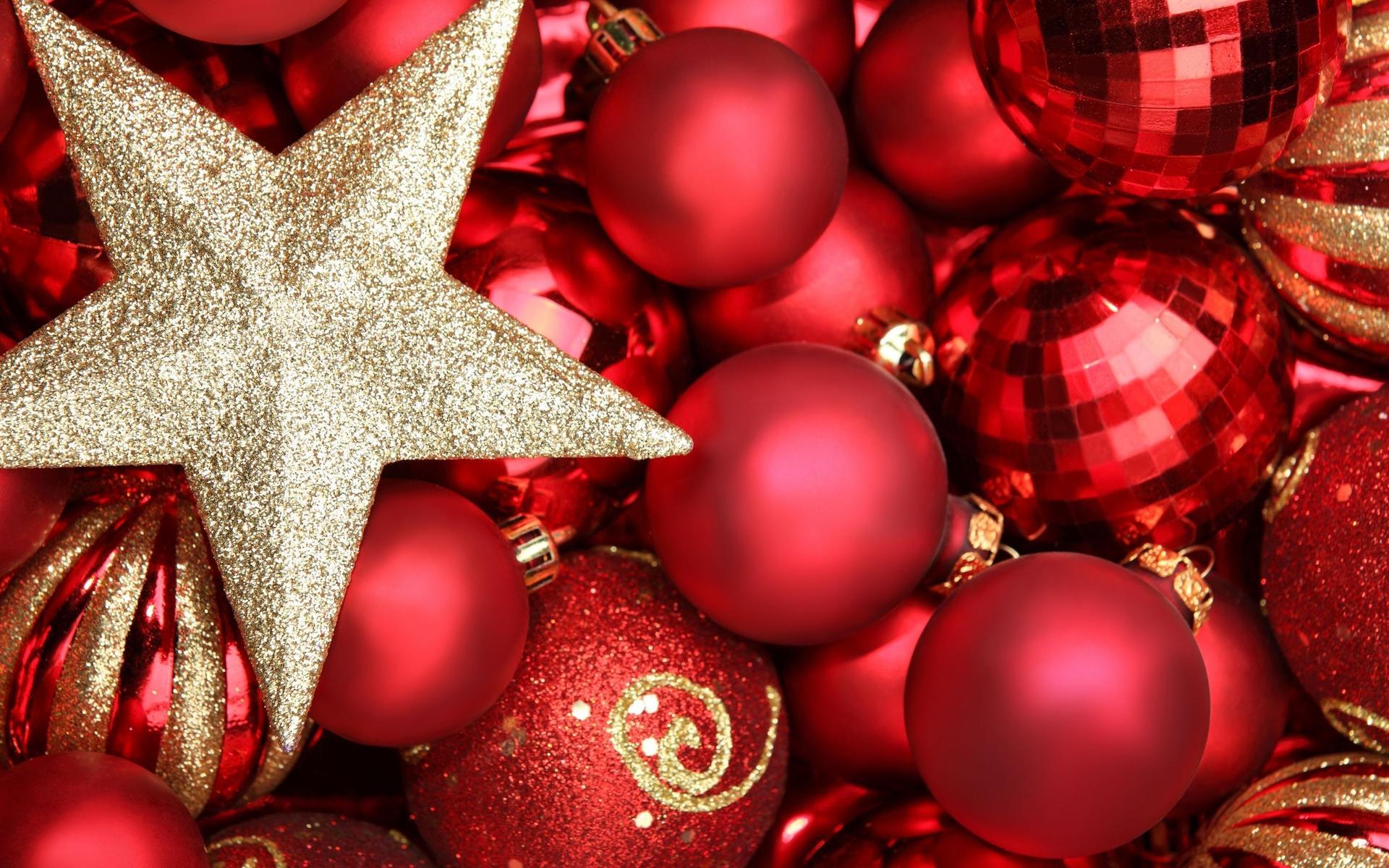Шарики звезда - C наступающим новым годом 2017 поздравительные картинки