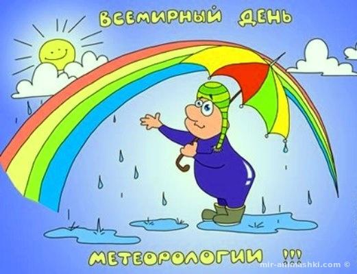 Всемирный день метеорологии - 23 марта 2019