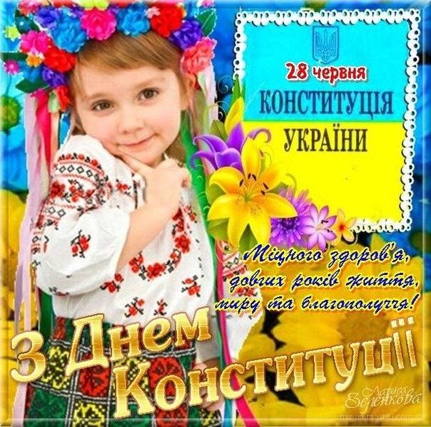 Картинка с днем конституции украины, для