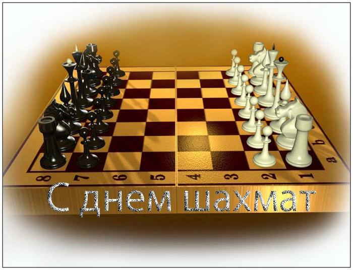 Международный день шахмат - 20 июля 2017