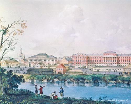 Московский университет 18 века