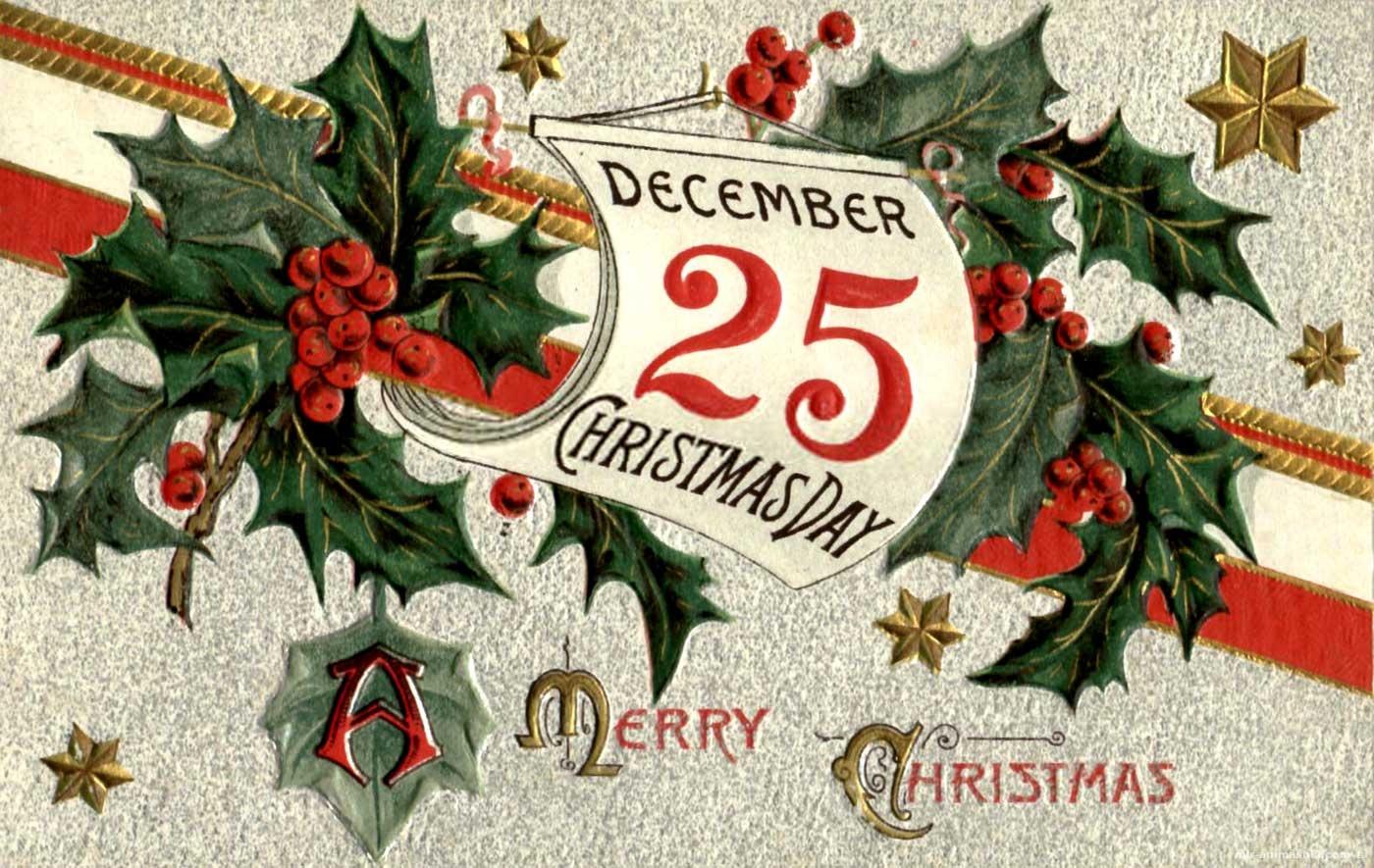 Католическое Рождество 2018 - 25 декабря 2017