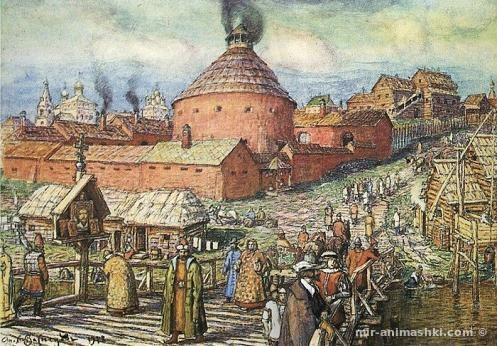 Москва XIV века