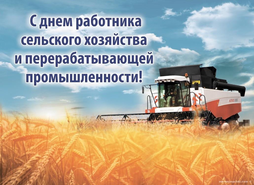 День работника сельского хозяйства и перерабатывающей промышленности - 9 октября 2017