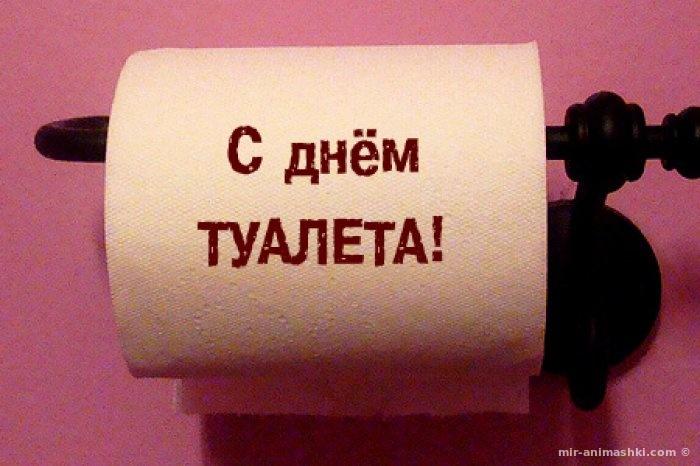 Всемирный день туалета - 19 ноября 2017