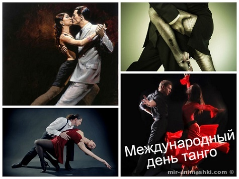 Международный день танго - 11 декабря 2018