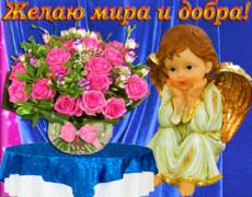 Желаю Мира и добра