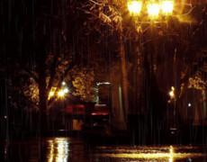 Вечерний фонарь