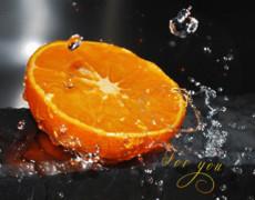 Апельсин про тебя