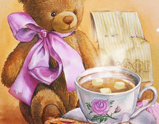 Доброго утра медвежонок