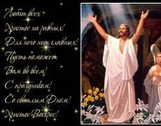 Христос Воскрес анимация стихи