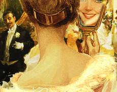 Девушка на дворянском балу