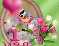 С Праздником Весны 1 Мая!